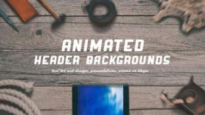 Making Animated Headers