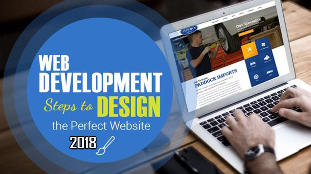 Web Development Steps to Design the Perfect Website