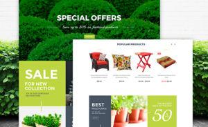 Garden Design WooCommerce Theme