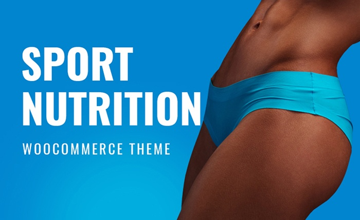 Sports Nutrition WooCommerce Theme