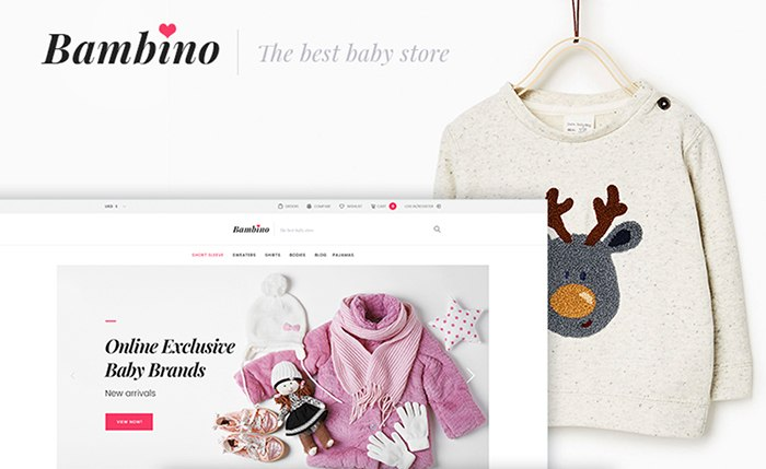 Baby Store Mobile-Friendly WooCommerce Theme