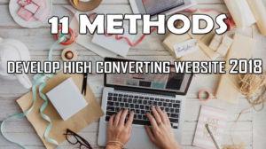 Develop High Converting Website