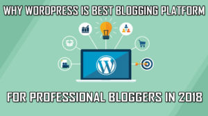 Wordpress Blogging Platform 2018