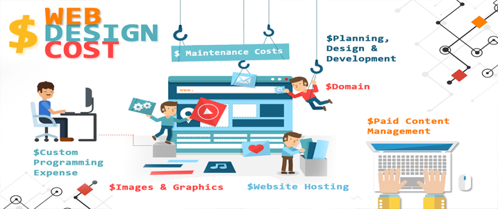 Expenses for Web Designing and Development