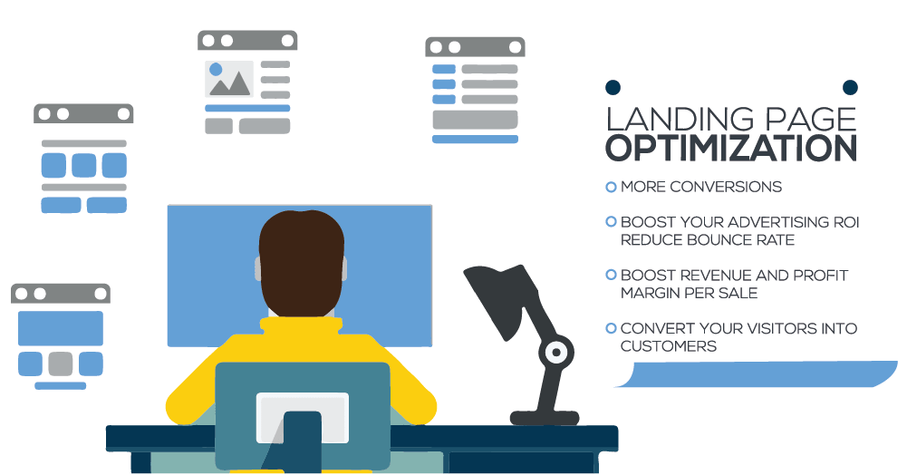 Optimize Landing Pages for your Small Business Website